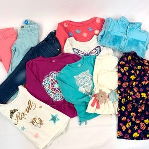 Other - Girls 2T Clothing lot of 11 mix n match capsule